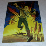 1994 GI Joe 30th Salute #61 Jungle trap Trading card